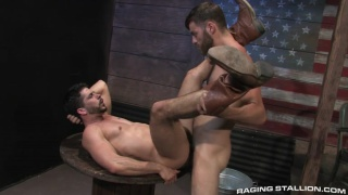 Tommy Defendi and Ray Han at raging stallion
