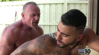 Rikk York & Mickey Collins at men over 30