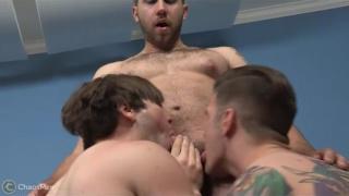 Ethan and Gennaro and Shiloh at chaos men