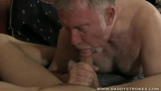 daddy and young lover make their own video