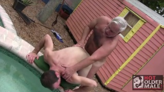 Hot Older Male's Steve Lucas Fucks Kidd Manleigh