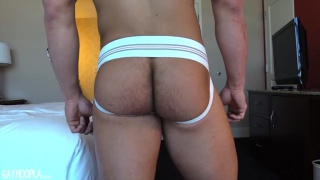 GayHoopla's newest stud Daniel Carter