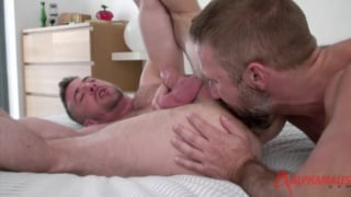 Guy with beard fucks Scott Hunter's ass