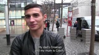 Bareback a sexy Czech visitor