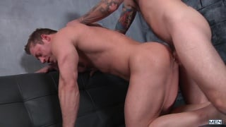 Christian Wilde & Joey Carter in first time bottom