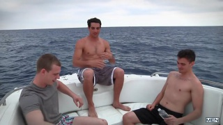 Asher Hawk, Jack King and Johnny Forza threeway