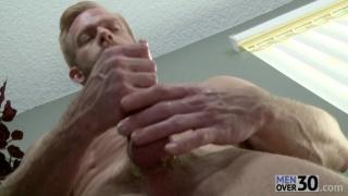 Christopher Daniels masturbating