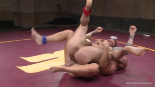 Seven Dixon and Mitch Vaughn at naked kombat