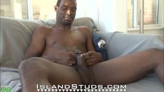 Hung Black Stud Jacking and Showering