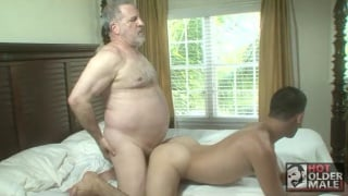 Luciano and Theo Devair at hot older male