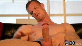 Blake Daniels Jacks his Big Cock