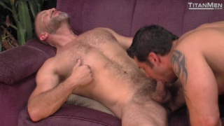 Worked Over with Dirk Caber Fucks Marcus Ruhl