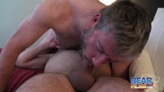 Scott Spears and Dan Lair hairy daddy sex