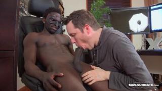 jackson gets his black dick sucked
