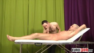 Ethan & Deacon in massage boys at euro boy xxx