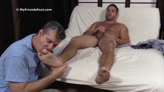 Furry cub Seth gets more foot worshiping
