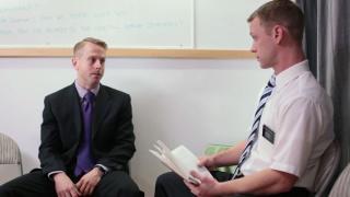 Elder Roberts & Brother Jensen at mormon boyz