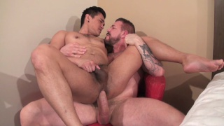 Rocco Steele and Eli Lewis at bareback that hole