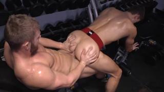 dawson and quinn's gym fuck at corbin fisher