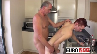 kitchen fuckers ben and aiden at euro boy xxx