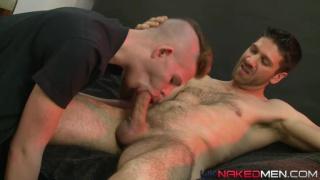 Alex Silvers & Craig Daniel at UK naked men