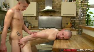Alex Silvers & Jason Domino at uk naked men