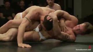 4-man Live wrestling Match at naked kombat