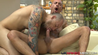Jordano Santoro and Alexx Desley at UK naked men