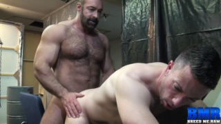 Brad Kalvo and Nick Tiano at breed me raw