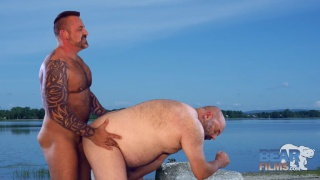 Marc Angelo and Tristant Riant at bear films