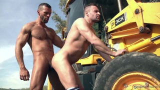 DENIS VEGA & MATEO STANFORD at men at play