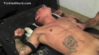 bisexual stud JOHNNY at tickled hard