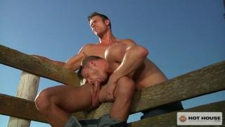 Brian Bonds & Ryan Rose in saddle up