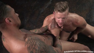 Brian Bonds and Boomer Banks at raging stallion