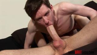 Ryan Westwood and Kayden Gray at hard brit lads