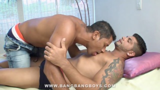 Marcelo Mastro Bare Bangs Fred at bang bang boys