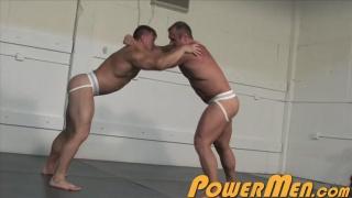 Rocky Remington and Carl Payne at power men