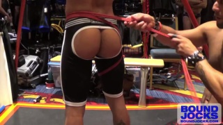 Leo Forte and Armond Rizzo at bound jocks