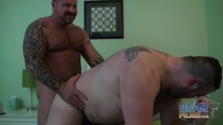Marc Angelo and Rex Blue at bear films