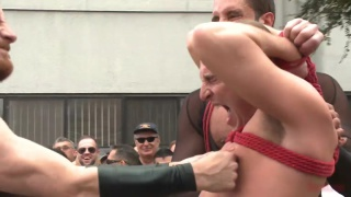 bound in public goes to folsom street fair 2014