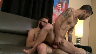 Tommy Defendi and Nick Cross at extra big dicks