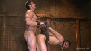 Trenton Ducati and Leon Fox at bound gods
