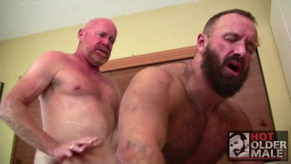 Troy Webb and Mik Plars at hot older male