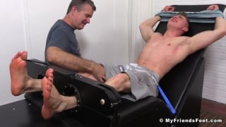 jake west's first shoot at my friends' feet