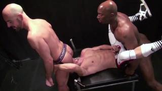 Champ Robinson and Adam Russo do Joseph Rough raw fuck club