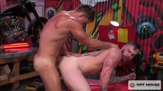 Chris Bines and Armando De Armas at Hot House