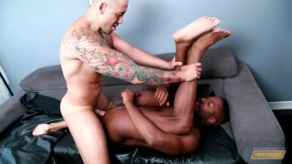 Jordano Santoro and JP Richards at next door ebony