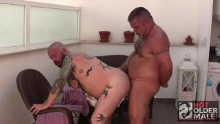 Alik Zanders and Oceanbear fuck at hot older male