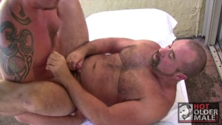 Jett Ryder and Max Giovanni at hot older male