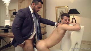 ADAM CHAMP & ALLEN KING at men at play